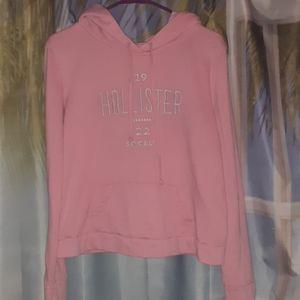 Pink 1922 Hollister Hoodie